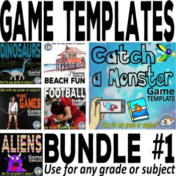 Bomb Games Templates Bundle #1