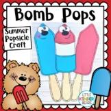 Bomb Pop Back to School Craft