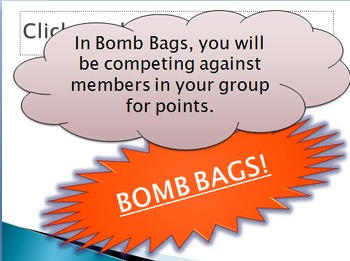 Bomb bags- Minerals and the Rock Cycle