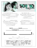 Bomba Estereo - 'Soy Yo' Cloze Song Sheet! Spanish!