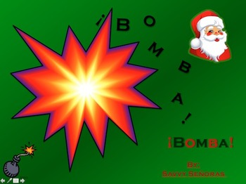 Bomba Review Game (Christmas)