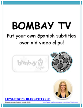 Bombay TV-Create videos with subtitles in Spanish!