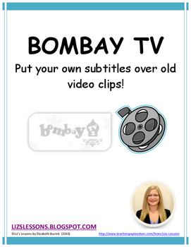 Bombay TV! Put your own subtitles over old video clips!