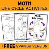 Silkworm Moth Life Cycle Activities