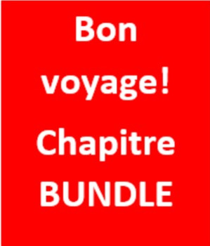 Bon Voyage 1 Vocabulary Crossword Bundle