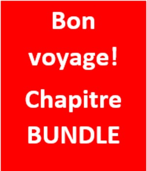 Bon Voyage 1 Chapitre 6 Bundle