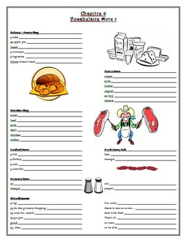 Bon Voyage Chapitre 6 Guided Notes & Study Guide
