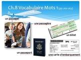 Bon Voyage Chapitres 8-9 PowerPoint