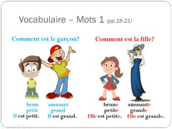 Bon Voyage Chapitre 1 PowerPoint