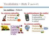 Bon Voyage Chapitre 2 PowerPoint