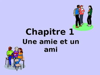 Bon Voyage Francais 1 Chapitre 1 PowerPoint