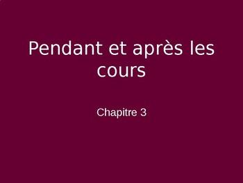 Bon Voyage Francais 1 Chapitre 3 PowerPoint