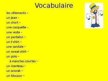 Bon Voyage Francais 1 Chapitre 7 PowerPoint