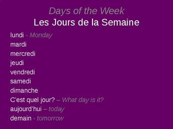 Bon Voyage Francais 1 Lecon Preliminaire - PowerPoint