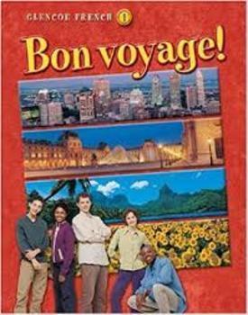 Bon Voyage Levels 1-2 Kinesthetic Activities/ Grammar/Vocab Swat It All Chapters