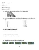 Bon Voyage Level 1 First Semester Final Review (P-6)