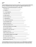Bon Voyage Level 2, Chapter 1 Object Pronouns Translation