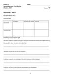 Bon Voyage Level 2 Second Semester Final Review (5-10)