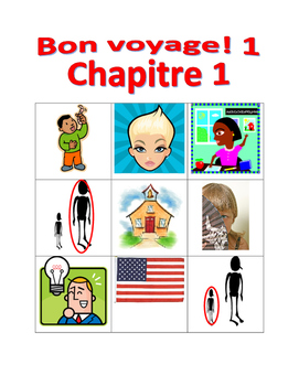 Bon voyage 1 Chapitre 1 Bingo