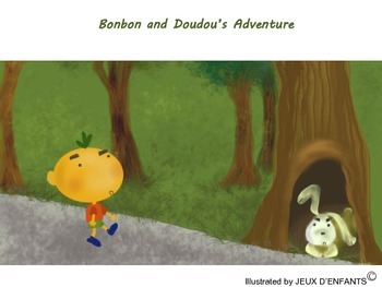 Bonbon & Doudou's Adventure (story, categorization & sorting activities)