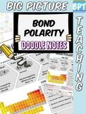 Covalent Bond Polarity Activity Worksheet Doodle Notes