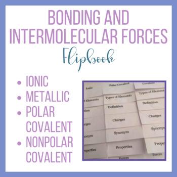 Bonding and Intermolecular Forces Flipbook