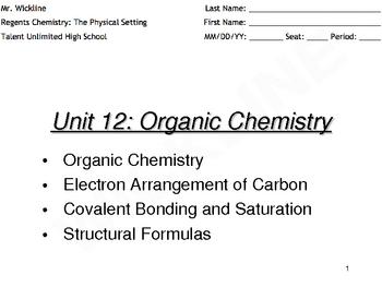 Bonding of Carbon Atoms