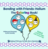 Bonding with Friends: Helium (Story, Coloring Book, Activi