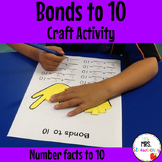 Number Bonds to 10 Craft Activity
