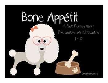Bone Appétit! Fact Fluency!!
