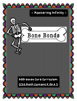 Bone Bonds: Halloween (or Anatomy/Skeleton) Math