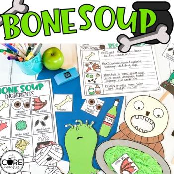 Bone Soup Interactive Read-Aloud Lesson Plans and Activities