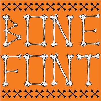 Bone-Themed Font