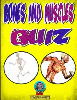 Bones and Muscles Quiz