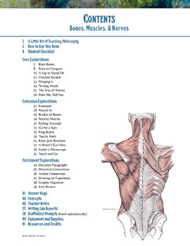 Human Body: Bones and Muscles and Nerves—Complete Unit Bundle for Middle School