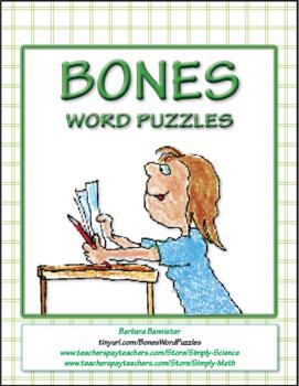 Bones Word Puzzles ★ FREEBIE ★