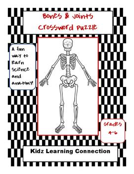 Science Crossword:  Bones and Joints