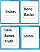 Bones and Muscles Jeopardy Game