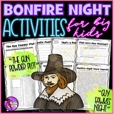 Bonfire Night Activities: Gun Powder Plot / Guy Fawkes Night (5th November!)