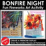 Bonfire Night, Guy Fawkes Firework Art Activity