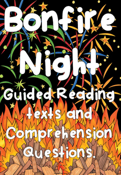 Bonfire Night Guided reading comprehension texts - Guy Fawkes