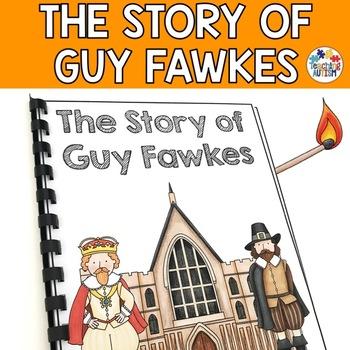 Bonfire Night Guy Fawkes Flashcard Story