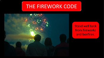 Bonfire Night and Firework Safety Assembly / Lesson Presentation - 70 Slides