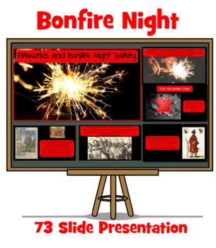 Bonfire Night and Firework Safety Assembly / Lesson Presentation - 70 Slides
