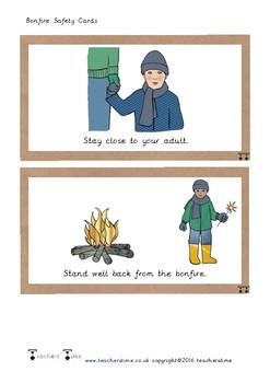 Bonfire Safety Cards