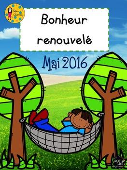 Bonheur renouvelé - Catalogue des nouveautés de Mai 2016