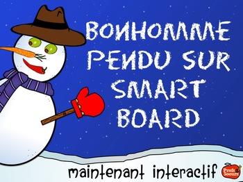 Bonhomme Pendu Interactif: Version Smart Board