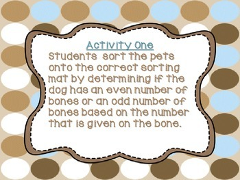 Let's Bone-Up on Odd and Even Numbers! CCSS 2.OA.3