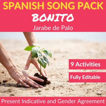 Bonito by Jarabe de Palo: Spanish Song to Practice the Present Indicative
