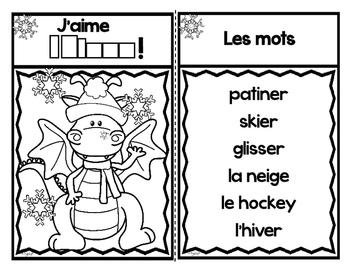 Bonjour l'hiver! French Emergent Reader